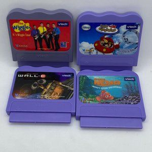 VTech Set of 4 Games The Wiggles, Wall-E & More